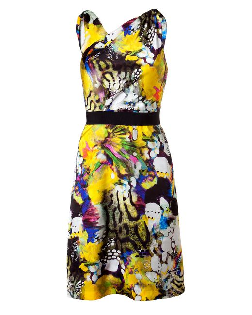 Emanuel Ungaro | Multicolor Knee-length Dress | Lyst