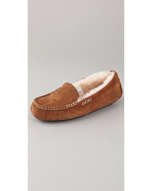 Ugg | Brown Ansley Slippers | Lyst