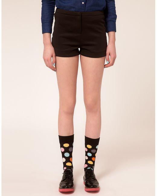 Happy Socks   Black Happy Socks Multi Spot Socks for Men   Lyst