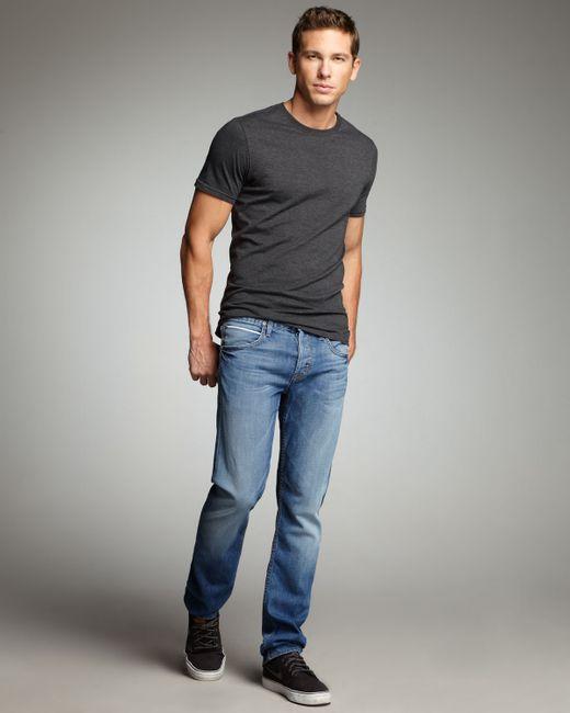Hudson Jeans   Blue Bryon Longshoreman Selvedge Jeans for Men   Lyst
