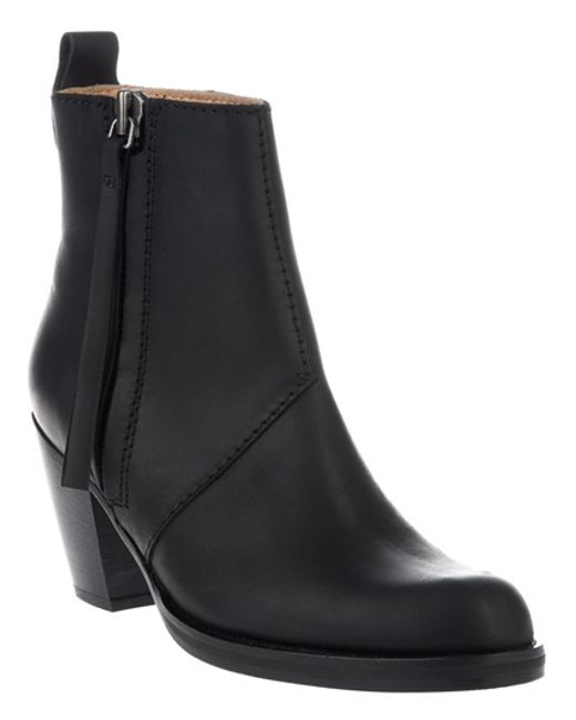 Acne Pistol Boots in Black - Save 6% | Lyst