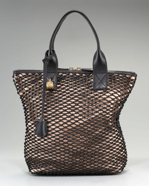 Alexander McQueen | Pink North-south Mesh Tote | Lyst