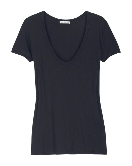 James Perse | Blue Loosefit Cottonjersey Tshirt | Lyst