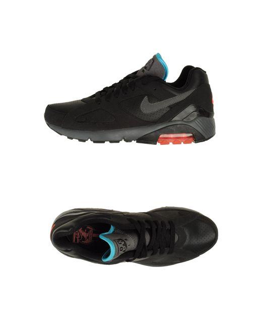 Nike   Black Nike Air Royal Mid Knit Trainers   Lyst