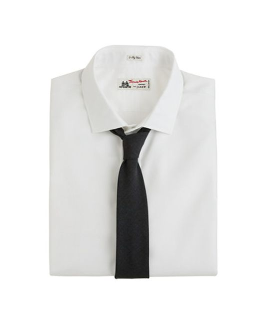 J.Crew | Thomas Mason® Fabric Spread-collar Dress Shirt in White for Men | Lyst