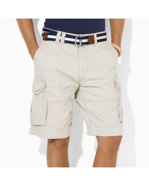 Polo Ralph Lauren | Natural Gellar Classic Cargo Short for Men | Lyst