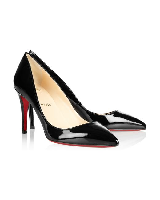 Christian Louboutin | Black The Pigalle 85 Patentleather Pumps | Lyst
