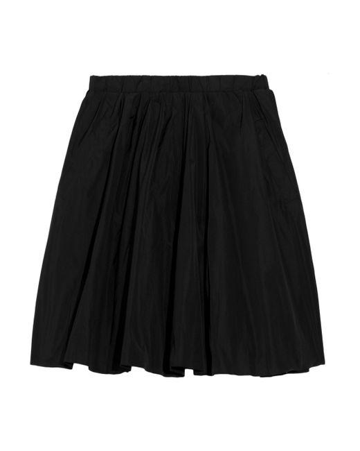 Acne | Black Romantic Taffeta Mini Skirt | Lyst