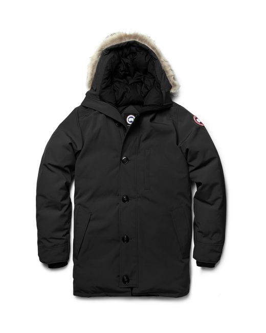 Canada Goose parka online cheap - Canada goose 'chateau' Down Parka in Black for Men | Lyst