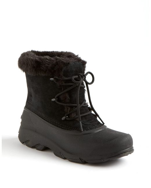 sorel snow suede boots in black black suede save
