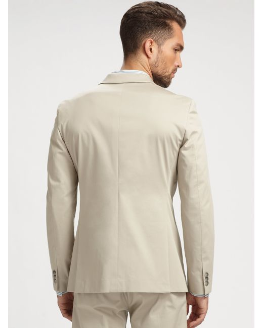 Theory | Natural Kris Balance Twill Blazer for Men | Lyst