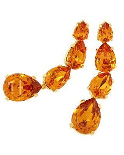 AZ Collection | Orange Tangerine Dangle Earrings | Lyst