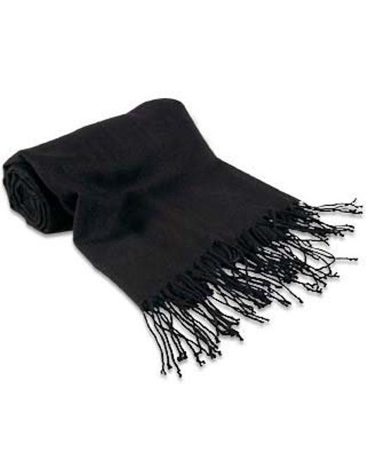 FORZIERI   Black Pashmina Shawl   Lyst
