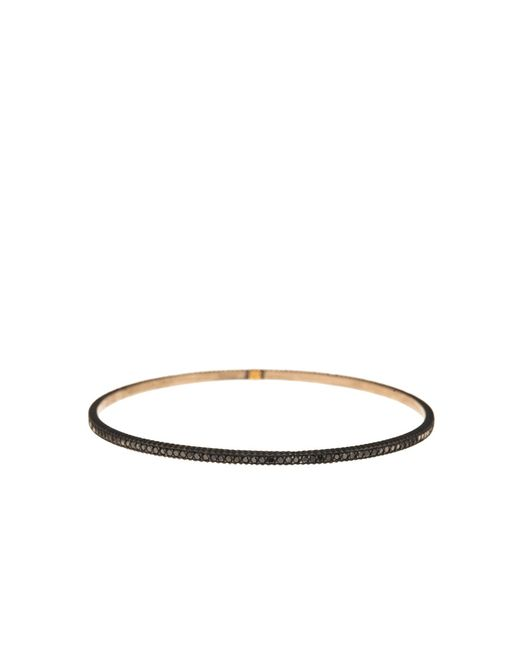 Yossi Harari | Lilah Black Diamond Pave Bangle | Lyst