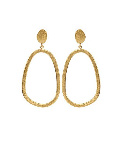 Yossi Harari | Yellow Melissa Open Earrings | Lyst