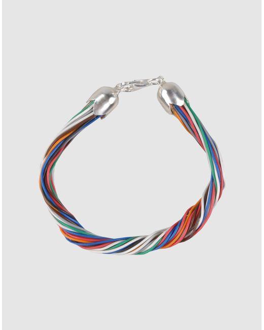 Carmina Campus | White Bracelet | Lyst