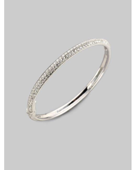 Adriana Orsini | Metallic Pave Bracelet | Lyst