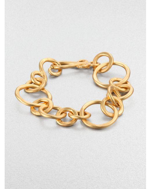 Stephanie Kantis   Metallic Coronation Large Chain Link Bracelet   Lyst