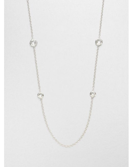 Ippolita | Metallic Clear Quartz & Sterling Silver Necklace | Lyst