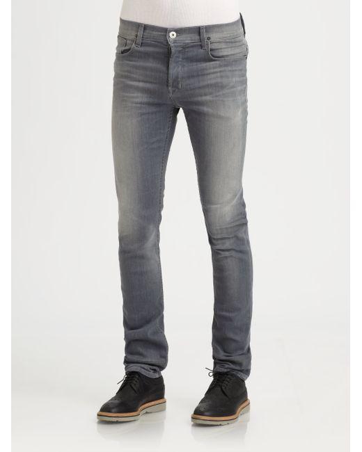 Hudson Jeans | Gray Blake Slim Straight for Men | Lyst