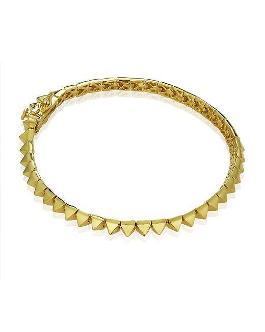 Eddie Borgo | Pink Pyramid Stud Tennis Bracelet | Lyst