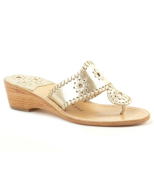 Jack Rogers | Natural Hamptons Mid Wedge | Lyst