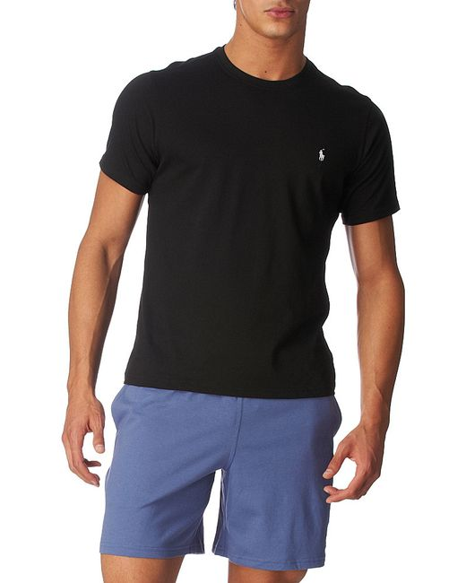 Polo Ralph Lauren | Black Classic Cotton-jersey T-shirt for Men | Lyst