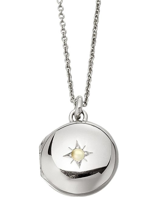 Astley Clarke | Metallic Little Astley Sterling Silver Locket | Lyst