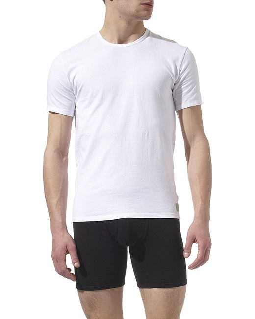 Calvin Klein | White Two Pack Crew-neck T-shirts for Men | Lyst