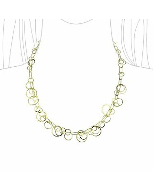 Orlando Orlandini | Star - 18k Yellow Gold Circles Necklace | Lyst