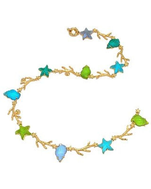 Tagliamonte | Marina Collection - Blue & Green 18k Gold Necklace | Lyst