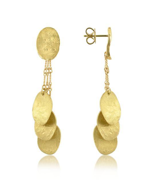 Torrini - Yellow Nuvole Moving - 18k Gold Drop Earrings - Lyst