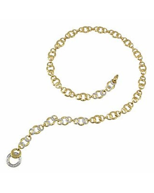 Torrini | Metallic Romance - 18k Gold And Diamonds Necklace | Lyst