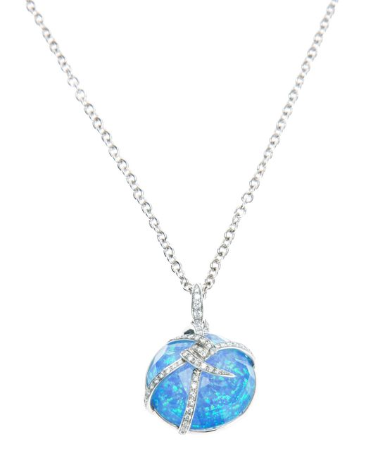 Stephen Webster | Metallic 'forget Me Knot' Bubble Pendant | Lyst