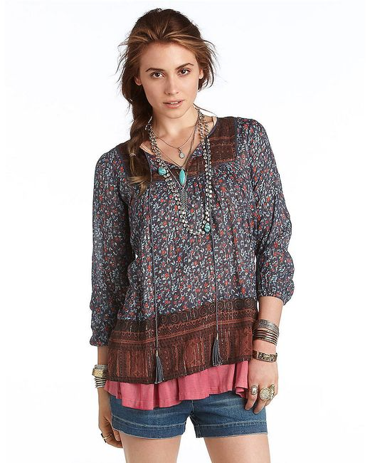 Free People | Blue Dream Lover Tunic | Lyst