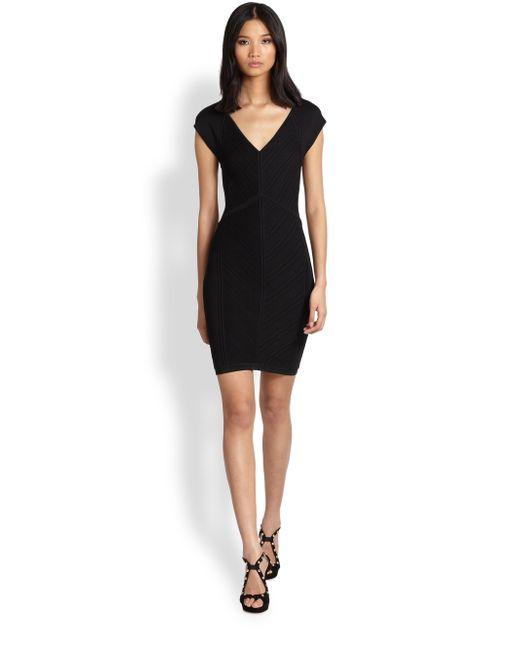 Diane von Furstenberg | Black Florenza Sleeveless Lace V-neck Dress | Lyst