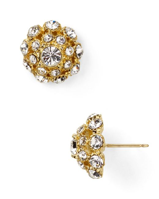 Kate Spade | Metallic Putting On The Ritz Small Stud Earrings | Lyst