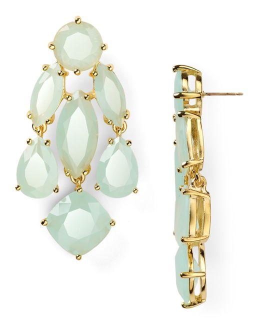 kate spade new york | Blue Statement Earrings | Lyst