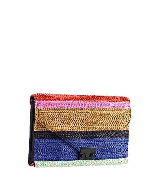 Loeffler Randall | Multicolor Lock Clutch | Lyst