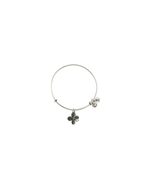 ALEX AND ANI | Metallic Lucky Clover Bangle | Lyst