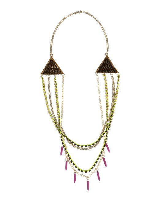 Deepa Gurnani | Metallic Necklace | Lyst
