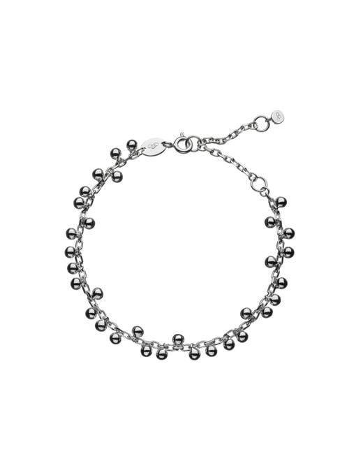 Links of London | Metallic Sterling Silver Effervescence Bubble Bracelet | Lyst