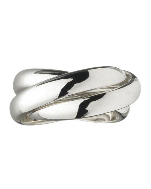 Links of London | Metallic Triple Ring | Lyst
