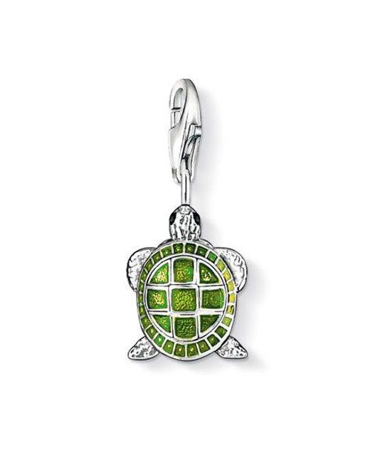Thomas Sabo | Green Charm Club Turtle | Lyst