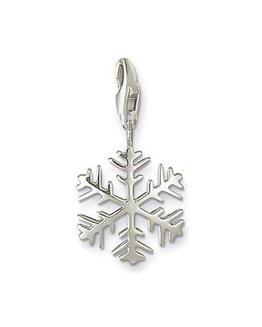 Thomas Sabo | Metallic Charm Club Snow Crystal | Lyst
