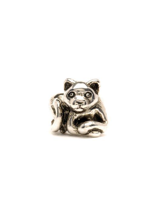 Trollbeads | Metallic Kitten Silver Charm Bead | Lyst