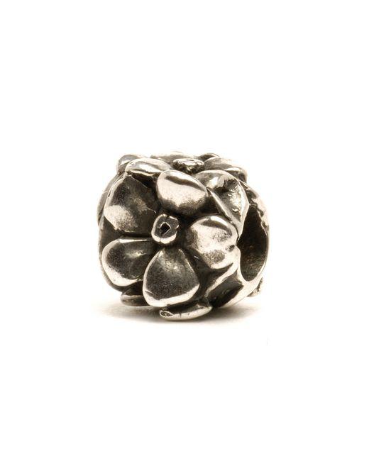 Trollbeads | Metallic Rose Silver Charm Bead | Lyst