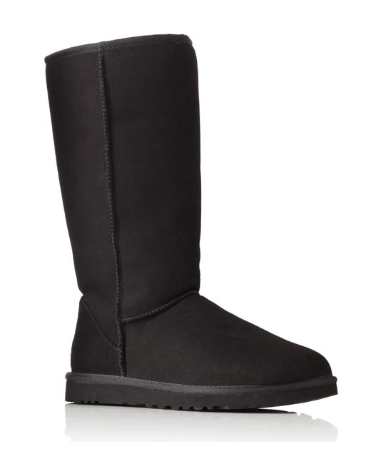 UGG | Black Classic Ii Tall Suede Boots | Lyst