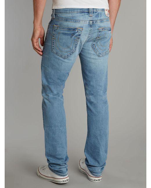 True Religion   Blue Ricky Rough River Jeans for Men   Lyst