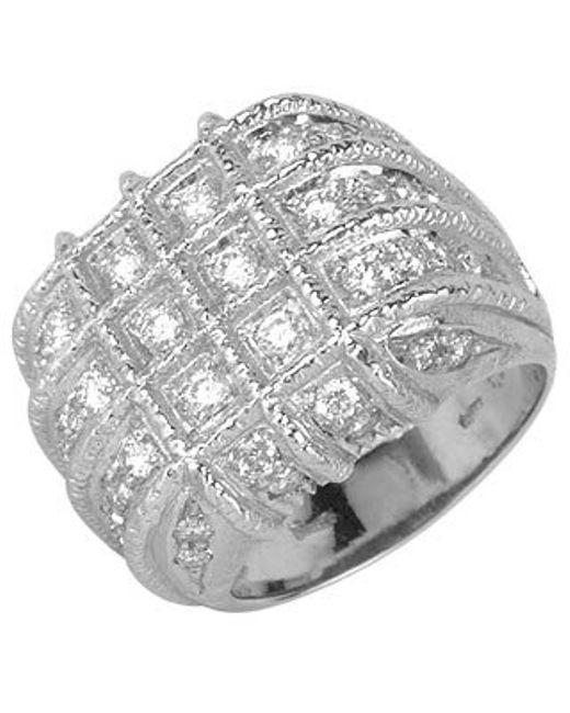 Torrini | Wallstreet - 18k White Gold Diamond Ring | Lyst